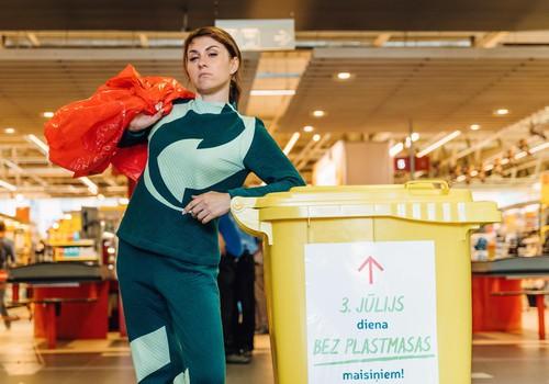 Rimi un Latvijas Zaļais punkts aicina ikvienu nodot mājās uzkrātos plastmasas maisiņus