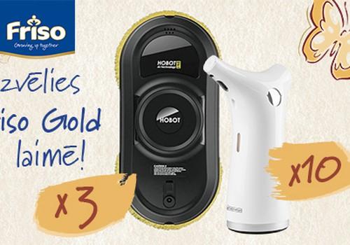 Izvēlies Friso Gold un laimē!