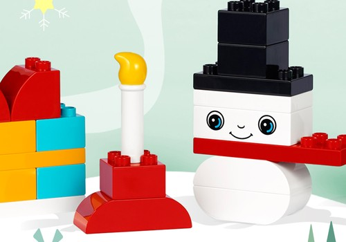 Gatavojies svētkiem ar LEGO® DUPLO® dāvanu ceļvedi!