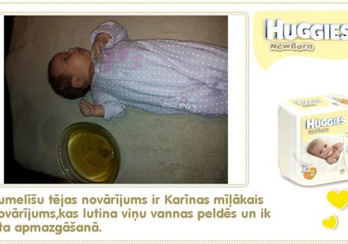 Katrīna aug kopā ar Huggies® Newborn: 39.dzīves diena