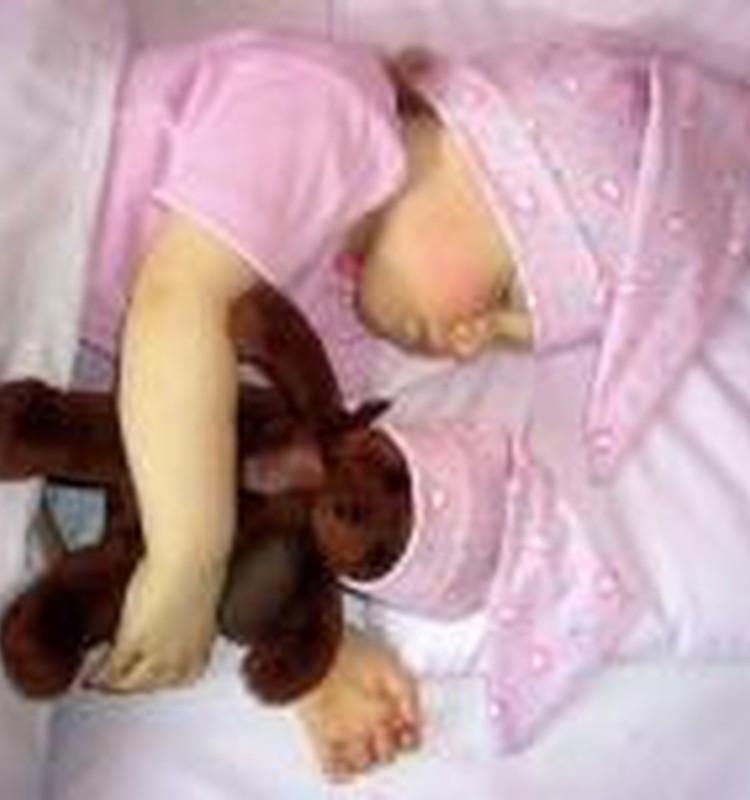 Cikos Tavs mazulis vakaros iet gulēt?