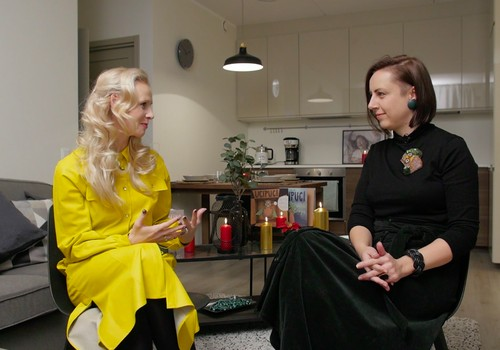 6.decembra TV raidījuma lielajā intervijā - rakstniece Zane Zusta