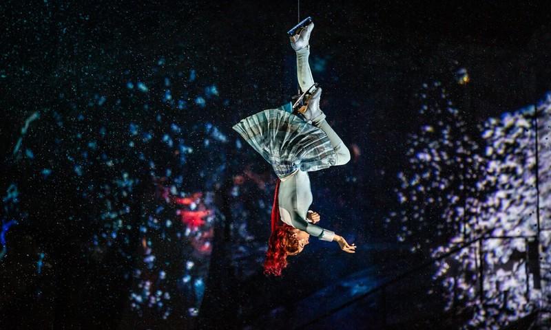 Akrobāti un olimpiskie čempioni –  pasaulslavenais Cirque du Soleil Rīgā