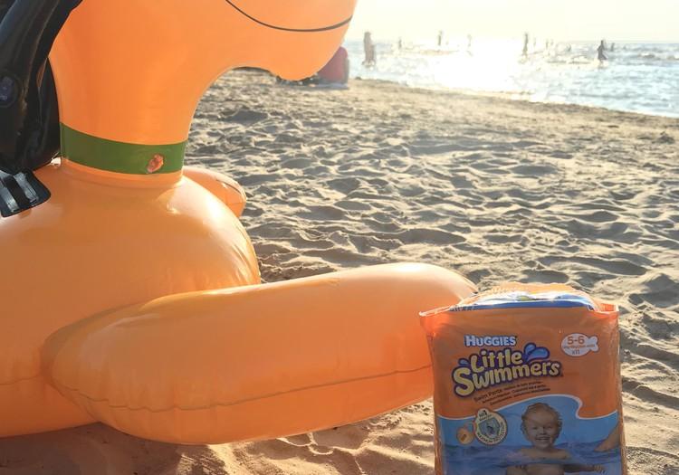 Testējam Huggies Little Swimmers