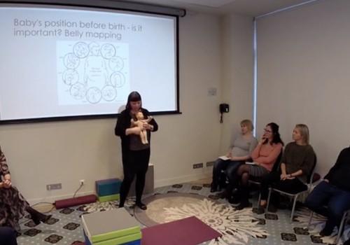 """VIDEOlekcija vecmātei Maret Voites """"Aktīva mamma, aktīvs bēbītis, aktīvas dzemdības!"""""""