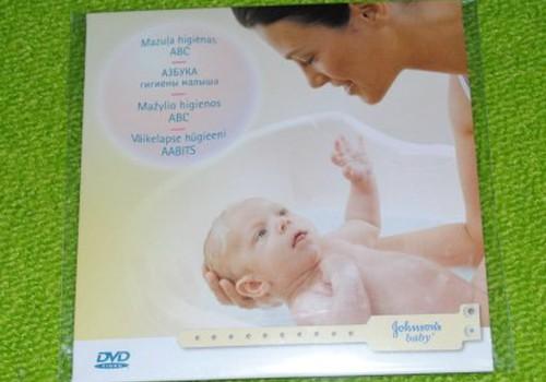 Nedēļas testa produkts - Johnson's Baby Mazuļa higiēnas ABC DVD