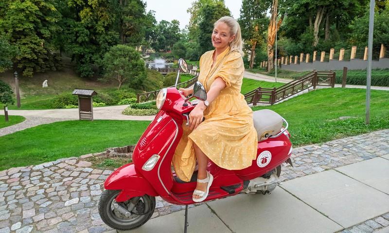 Vasaras rekomendācijas: motorolleri un mini zoo Kuldīgas novadā