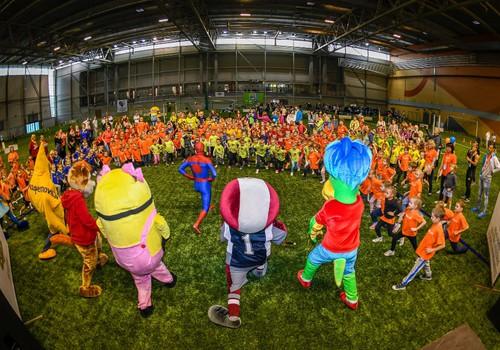 """Rīgas pirmsskolniekus aicina piedalīties kopīgā sporta dienā """"Man patīk sportot!"""""""