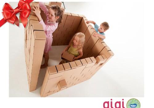 Huggies® svētku dāvanu katalogs: GiGi Bloks maziem un lieliem celtniekiem