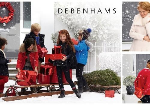 Pucējies svētkiem un nopelni 50EUR dāvanu karti no Debenhams veikala!