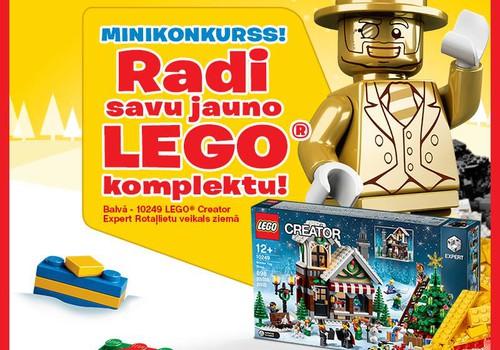 LEGO komplektu radītāju Facebook konkurss ir galā!