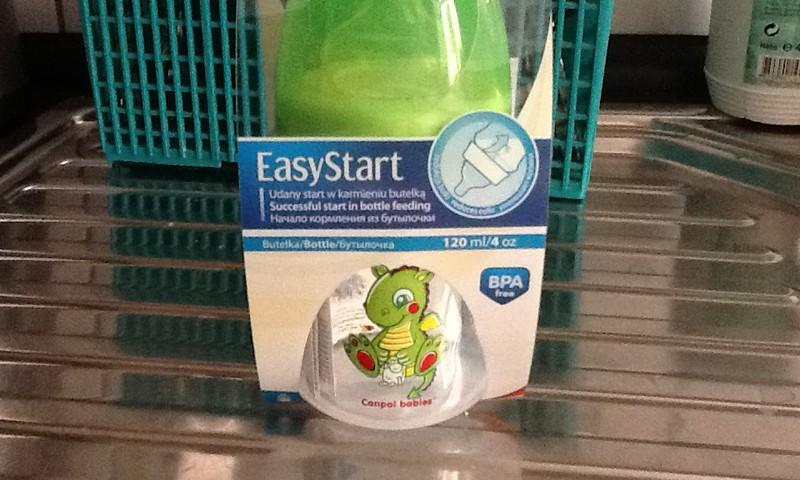 Canpol produkcijai papildinājums: Canpol Easy start pudelīte!