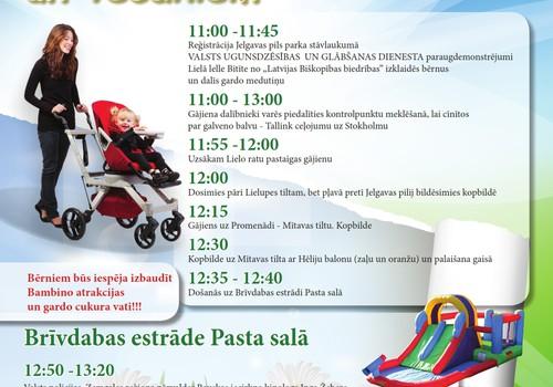Jelgavas māmiņu klubs aicina Jūs uz ikgadējo Ratu pastaigu!!!!