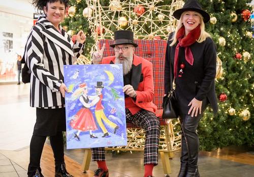 """Atklāts SOS bērnu ciematu labdarības kartīšu projekts """"Ziemassvētku brīnumu gaidot…"""""""
