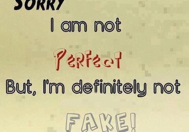 Es neesmu perfekta, bet esmu neatkārtojama