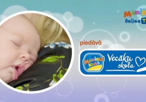 Kādu labumu mazulim sniedz masāža? Uzzini ONLINE TV