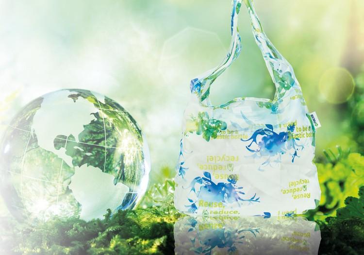 BENU Aptieka piedāvā eko somas no pārstrādātām PET pudelēm