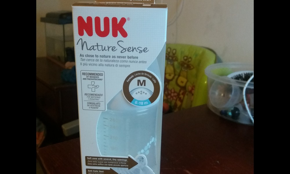 Produktu tests NUK Nature Sense