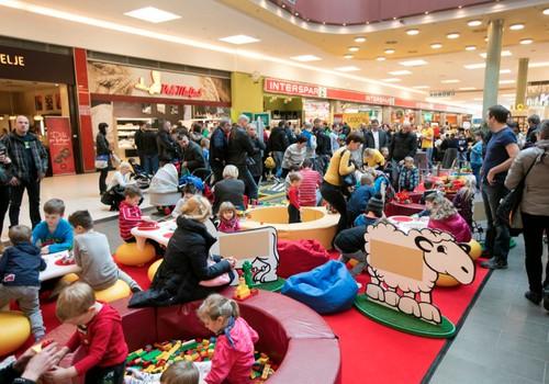 Baltijā pirmā LEGO® izstāde tirdzniecības kompleksā Spice