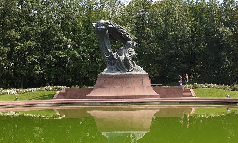 Lazenki parks Varšavā