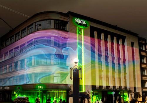 Staro Rīga laikā SEB banka piedāvās rīdziniekiem veidot gaismas stāstus 1302 m2 platībā