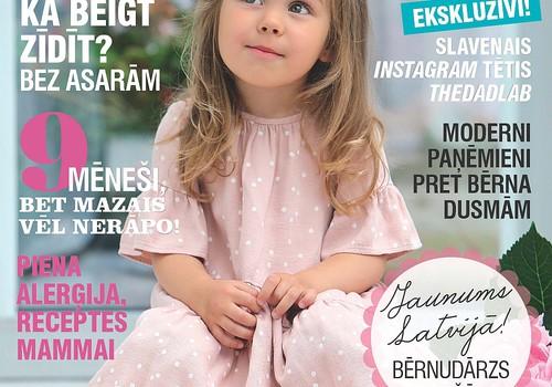 Žurnāla MANS MAZAIS septembra numurs jau pārdošanā!