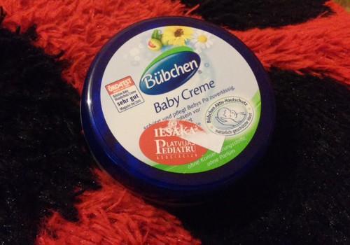 Bubchen Baby Creme - ērts un labs ikdienas rūpēm par mazuļa ādu
