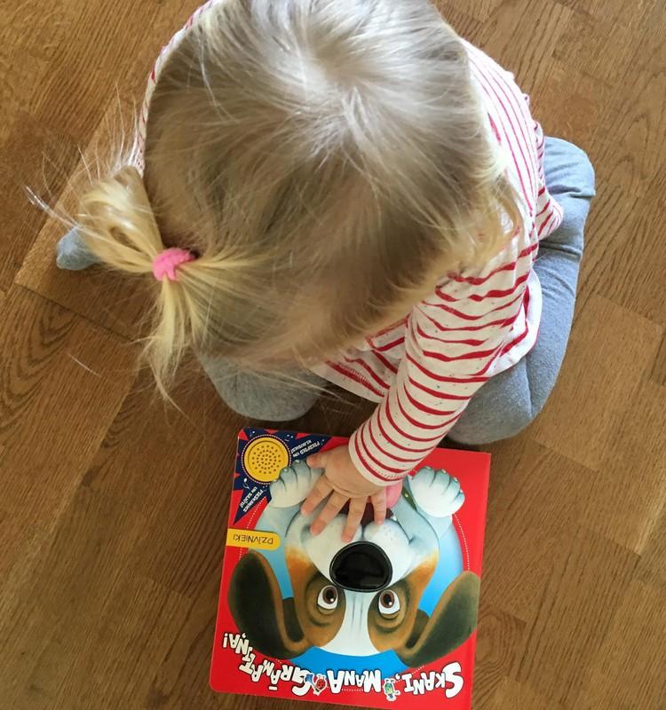 Skani, mana grāmatiņa - bērniem ļoti patīk