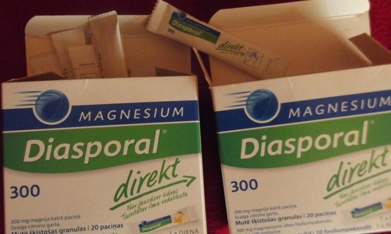 Lai uzlabotu veselību - Magnesium diasporal