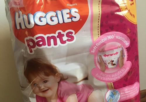 Huggies Pants kopš pirmā bērna kļuvušas tikai labākas! Mums patīk!