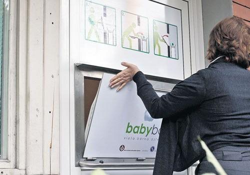 """""""Baby Box"""" atstāts jaundzimušais"""