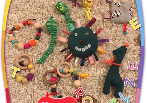 Paldies, ka parādīji pašgatavotās rotaļlietas!