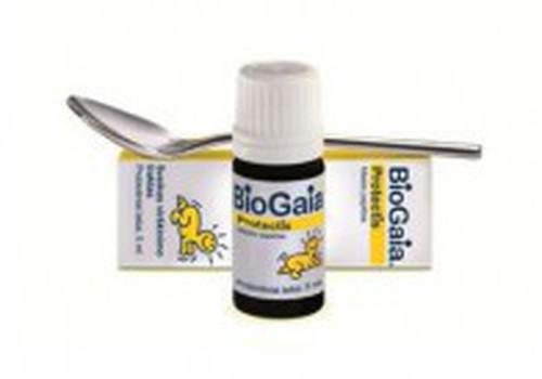 Pediatre: BioGaia® satur 100 miljonus dzīvas Lactobacillus reuteri Protectis