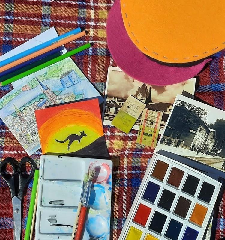 Dzelzceļa muzejs aicina bērnus uz radošām un izzinošām nodarbībām