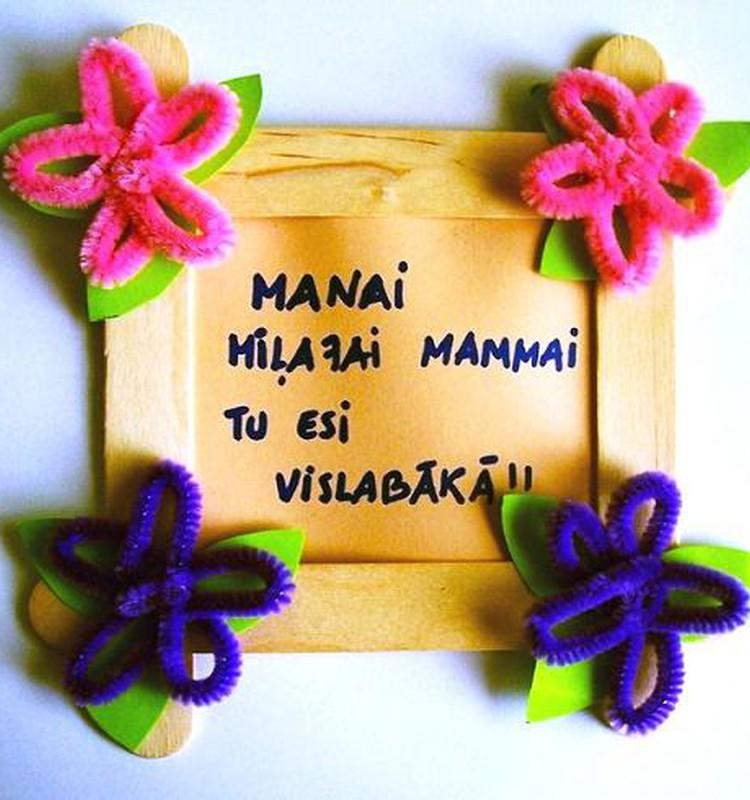 Sirsnīgs sveiciens visām māmiņām Mātes dienā!