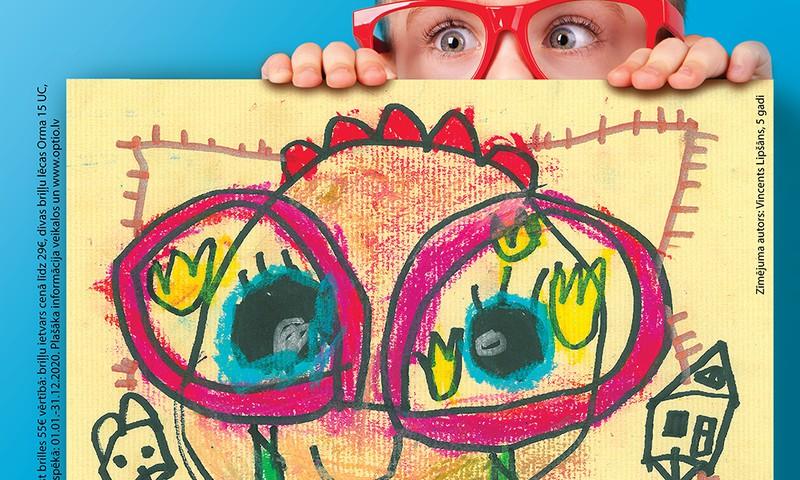 Šogad jau 3968 bērni izmantojuši iespēju saņemt brilles bez maksas