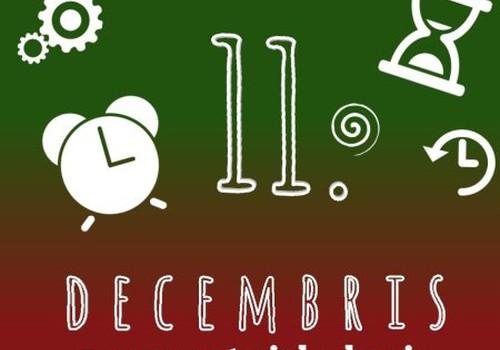 """11. decembris - ''Zaķīt, Cik pulkstenis?"""" #mansmaterialuskapis"""