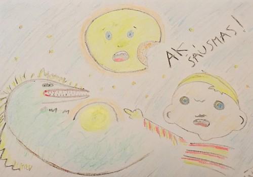 VIDEOpasaka: Mēnesim robs. Lasa Māra Upmane Holšteine