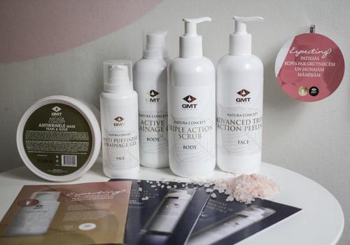 Māmiņu Kluba skaistumkopšanas procedūrās strādājam ar GMT Beauty kosmētiku