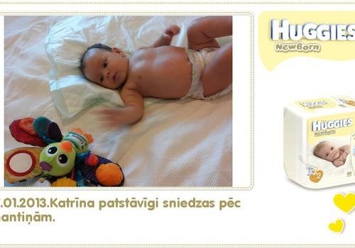 Katrīna aug kopā ar Huggies® Newborn: 83.dzīves diena