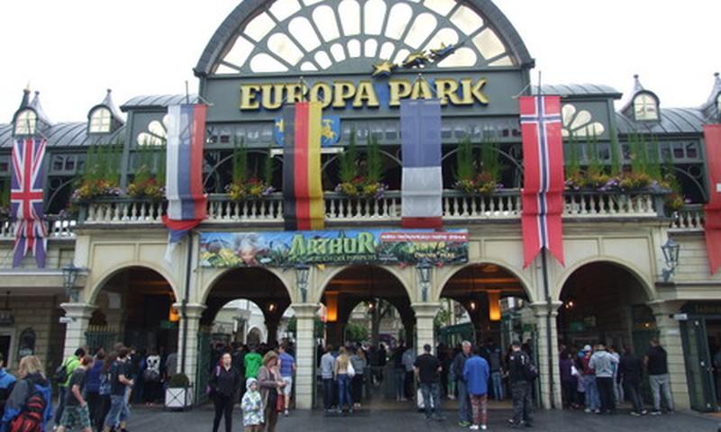 Europapark - bērnu sapnis piepildījās!