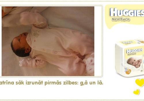 Katrīna aug kopā ar Huggies® Newborn: 40.dzīves diena