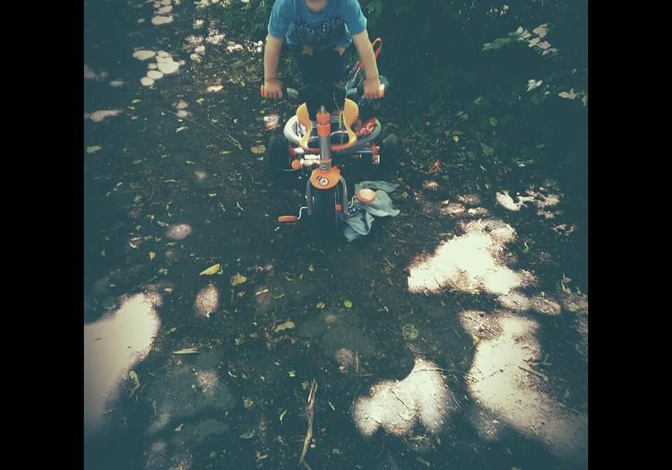 Esmu riteņu puika.