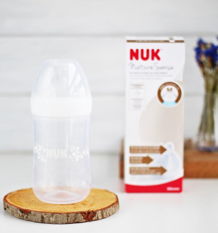 Eva testē | NUK Nature Sense pudelīte