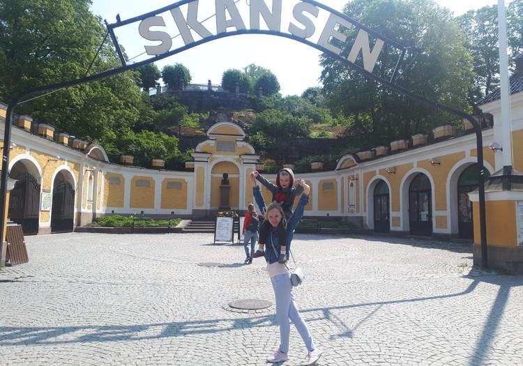 Ceļojums uz Stoholmu.Skansen parks.
