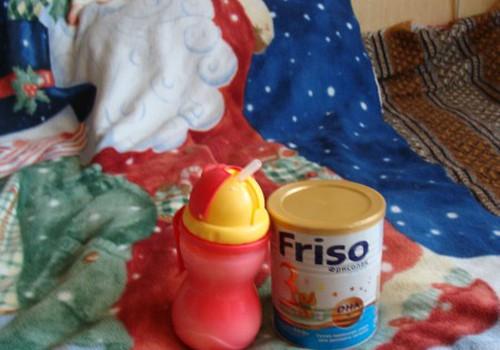Testējām Friso piena maisījumu 1-3 gadiņiem
