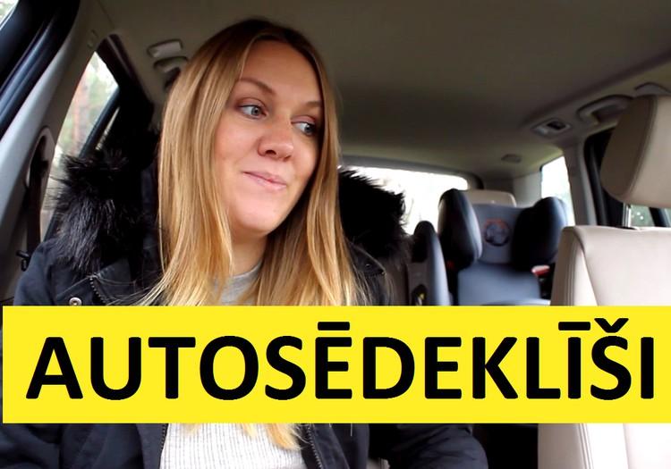 Mūsu pieredze ar autosēdeklīšiem: drošības jostas VS drošības spilvens